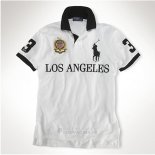 Ralph Lauren Homme 8047 City Polo Los Angeles Blanc