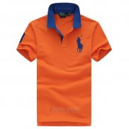 Ralph Lauren Homme Pony Polo Orange1