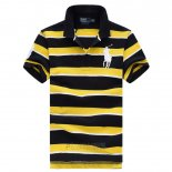 Ralph Lauren Homme Pony Polo Stripe Polo Jaune3
