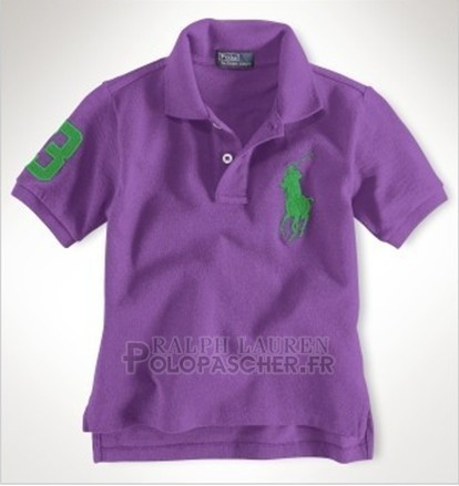 Ralph Lauren Enfant Pony Polo Volet
