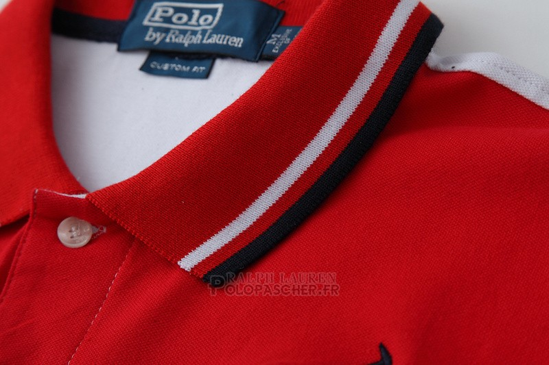 Ralph Lauren Homme Pony Polo 1967 Rouge Blanc