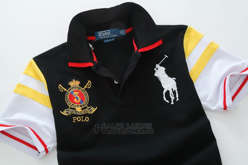 Ralph Lauren Homme Pony Polo Athletic Division Noir